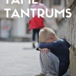 Problem Solving to Tame Tantrums