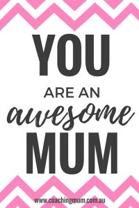 You Are An Awesome Mum Pink