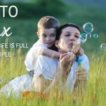 How to relax when your life is full of little people