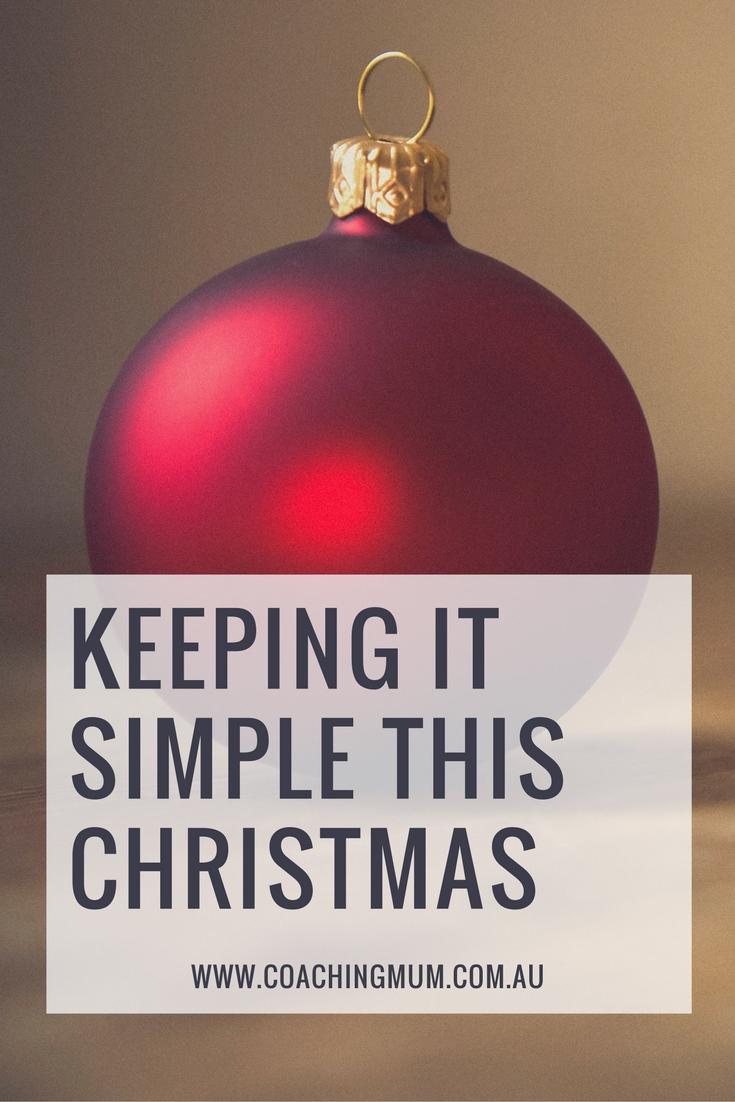 keeping-it-simple
